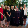The Right Honourable Kim Campbell with the 2009 PEAK Honourees and Nominees